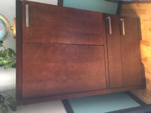 Commode et armoire