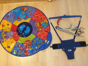 Jolly Jumper and play mat
