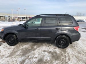 2013 Subaru Forester with Brand New Engine