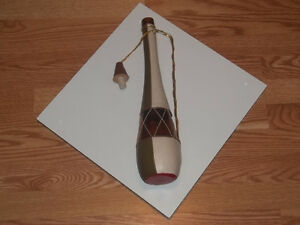 Decanter Decorative Leather Wine Bottle West Island Greater Montréal image 1