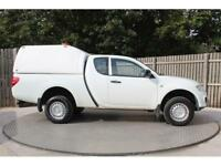 Mitsubishi L200 Di-D 4X4 4Work Club Cab Pick-Up 2.5 Manual Diesel