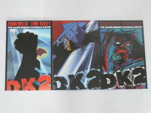 DC Comics Dark Knight Strikes Again#'s 1,2 & 3 Miller comic book