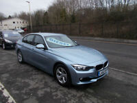 BMW 320D MANUAL DIESEL SALOON 2.0TD EFFICIENTDYNAMICS £20 A YEAR TAX 2013