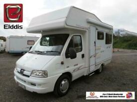 Elddis AutoQuest 120 4 Berth Motor Home