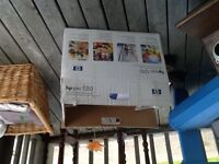 HP MONITOR FOR SALE 20 in LCD ,hp printer new