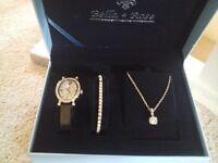 Gift set - bracelet , necklace, watch set new