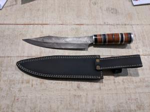 Handmade Damascus knife