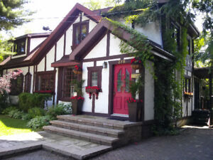BEAUTIFULL HOUSE FOR RENT IN MONTREAL.  5 TO 7 DAYS FOR TOURISTS