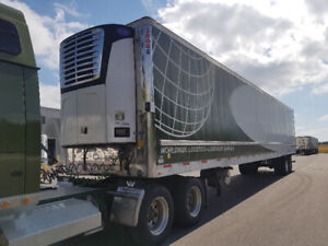 2010 Utility trailer with Carrier Reefer