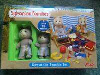 Sylvanian families-day at the seaside