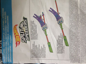 Hot wheels split speeders