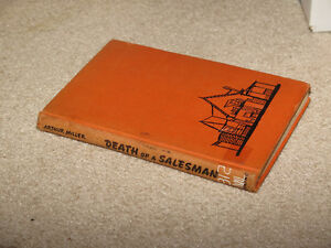 Death of a Salesman Arthur Miller Hardcover vintage book