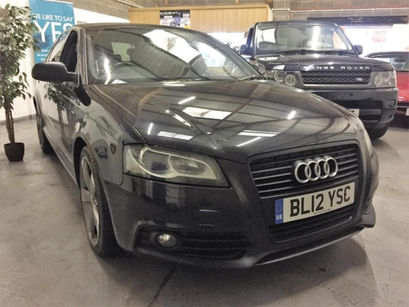 2012 12 Audi A3 S Line Black Edition,Face Lift