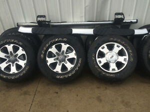 Fx4 rims with new tires