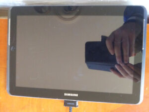 Samsung galaxy tablet with case and built in keyboard