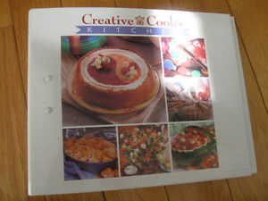 CREATIVE COOK'S KITCHEN RECIPES AND SUCH DELUXE BINDER