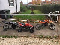 Bikes 50cc quad