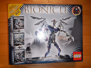 Lego Bionicle 8621, 8622, 8623 Rare 3 in one Set