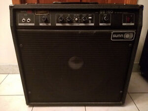 Vintage Sunn SB160 Made in USA echange ?