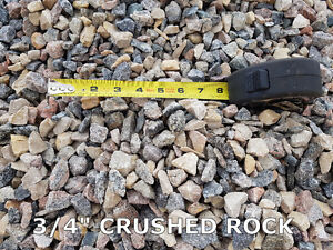 Crushed Rock - Base Gravel - Sand & More / Delivery or Pick Up