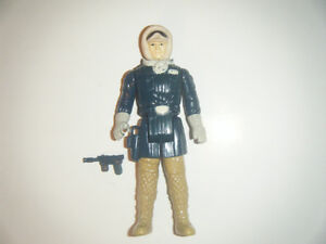 STAR WARS ORIGINAL (LOOSE) FIGURE- HOTH OUTFIT HAN SOLO
