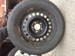 """16"""" Winter Tires & Rims 225/60R16"""