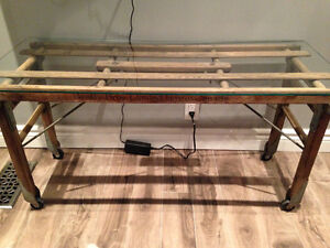 Coffee Table - Antique Tub Bench
