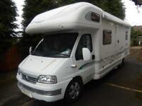 Bessacarr E765 2003 Rear Fixed Bed 6 Berth Motorhome For Sale Ref:14283
