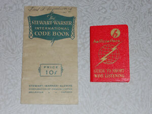 Vintage Short Wave Radio Booklets