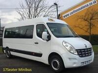 2011/ 61 Renault Master LM39 L3H2 17s Minibus / Coach Built, Low mileage 2.3DCi
