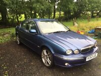 02 jaguar xtype 2.1 v6 petrol