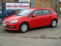 2013 Vauxhall Astra 1.4i 16V Exclusiv 5dr Hatchback Petrol Manual