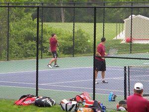 tennis coach/ hitting partner