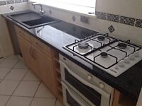 ENTIRE KITCHEN WITH CUPBOARDS, APPLIANCES, SINK, WORKTOPS - BEAUTIFUL CONDITION