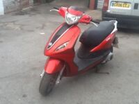 Piaggio fly 125 2013 model 125cc