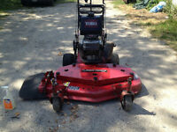 "Toro 48"" walker behind commercial mowers Excellent condition!"