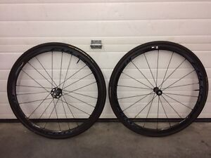 Fulcrum racing speed 35 tubular wheels.