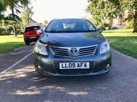 Toyota Avensis 2.0 V-matic M-drive S 2009 MY T4 Automatic Top of the Spec