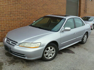 2002 Honda Accord SE **CERTIFIED AND EMISSIONS TESTED**
