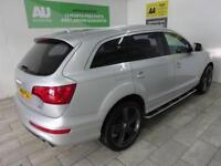 Audi Q7 3.0TD 4X4 Tiptronic Quattro S-Line AUTO ***FROM £395 PER MONTH***
