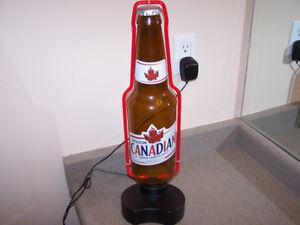 20 inch - MOLSON CANADIAN Neon BEER BOTTLE - amazing