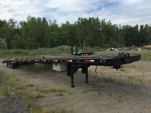2013 53' Wedge Deck Trailer