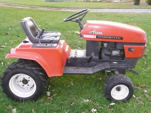 Ariens Lawnmower Tractor-Snowblower-PlowBlade.extra tires/chains London Ontario image 3