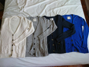 Abercrombie and AE cardigans