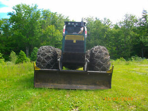 timber jackgrapple skidder
