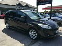 2011 Mazda 5 1.6 SPORT D 115PS 1 owner FSH 7 seats, leather+ heated seats, cruis