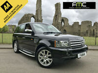 2007 Land Rover Range Rover Sport 2.7TD V6 auto HSE **TAN LEATHER FSH**