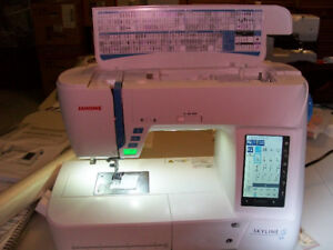 Janome Skyline S9 sewing machine