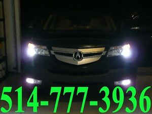 ACURA KIT HID XENON CONVERSION HEADLIGHTS PHARES INSTALLATION