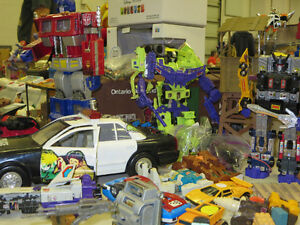 Sept. 25th Woodstock Toy & Collectibles Expo - vendors buying